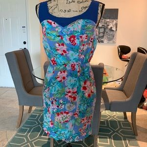 Tropical floral dress!!!